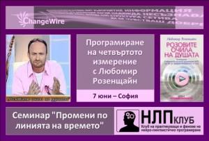 Промени по линията на времето - Любомир Розенщайн @ НЛП Клуб България - 7 юни 2012